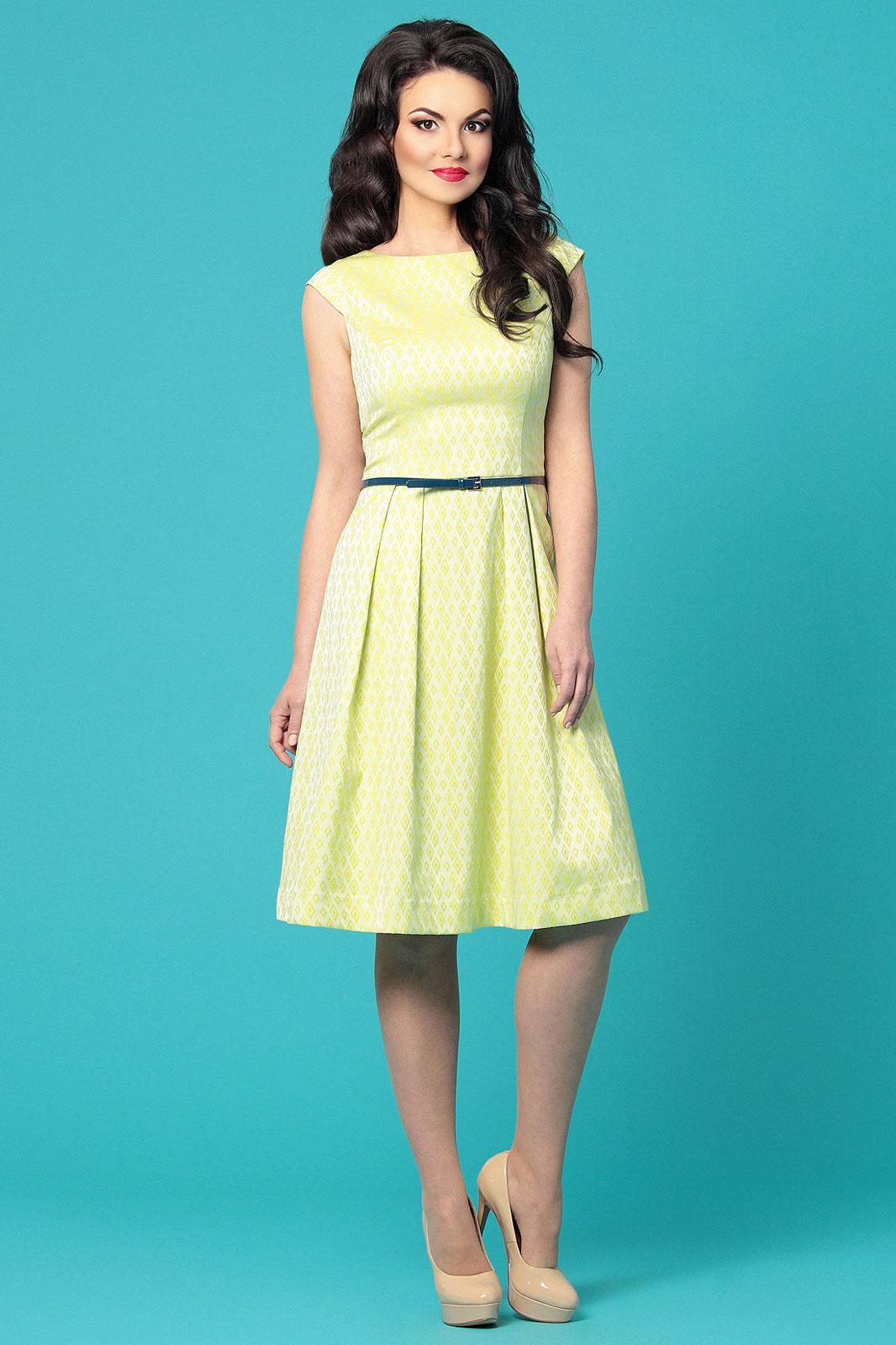 Фото летние платья ниже колен