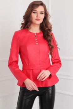 Куртка Axxa 82697 оттенки красного
