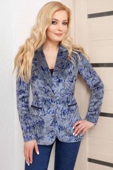 Жакет Azzara 3050 с синим