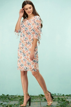 Платье Bazalini 3156 цветочный принт