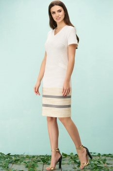 Платье Bazalini 3158 белый