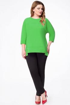 Блузка Дали 2361-2 зеленый