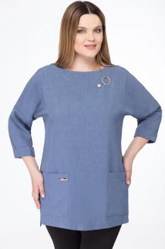 Блузка Дали 4209 голубой