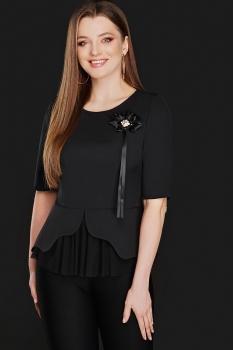 Блузка DiLiaFashion 0104-2 черный