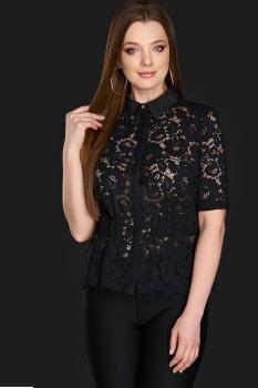 Блузка DiLiaFashion 0106-2 черный