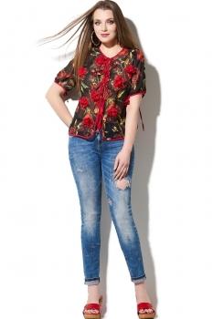 Блузка DiLiaFashion 110 красный
