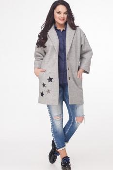 Пальто Erika Style 591 серый