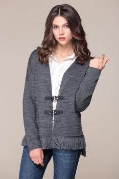 Кардиган My Fashion House By Elma 0978 серый