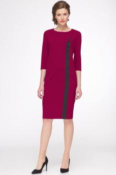Платье Faufilure 438С бордо