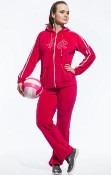 Спортивный костюм For Rest 5491-2 малина