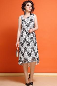 Платье JeRusi 1856 серый