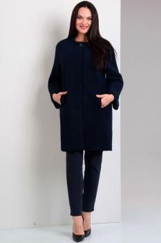 Пальто Jurimex 1627-2 Темно-синий