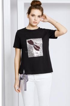 Блузка Kaloris 1412 черный