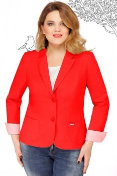 Пиджак LeNata 11862-4 красные тона