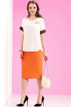 Комплект Lissana 3058-1 с оранжевым