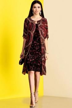 Платье Lissana 3373 красный