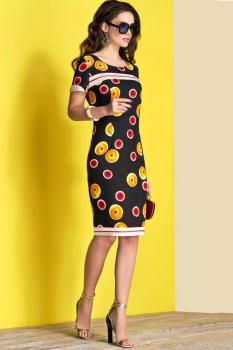 Платье Lissana 3375 круги
