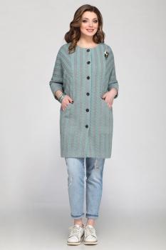 Пальто Matini 21146-2 бирюза