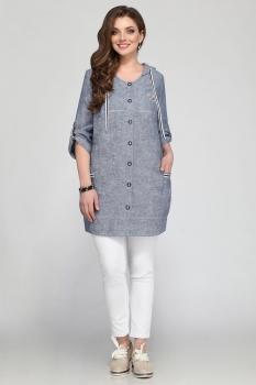 Блузка Matini 41081-1 голубой
