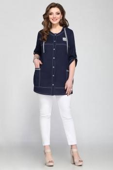 Блузка Matini 41081 темно-синий
