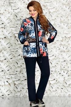 Спортивный костюм Mira Fashion 2731-1 синий