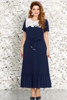 Платье Mira Fashion 4416 синий