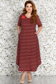 Платье Mira Fashion 4424 красный