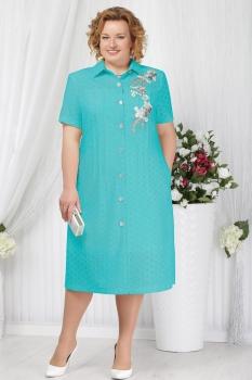 Платье Ninele 2154-2 бирюзовый