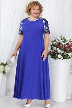 Платье Ninele 2158 васильковый