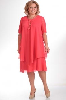 Платье Pretty 242 красные-тона