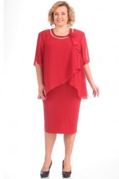 Платье Pretty 244-11 красный