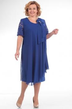 Платье Pretty 254-5 васильковый