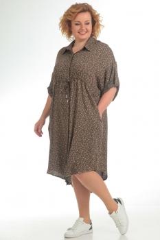 Платье Pretty 714 коричневый