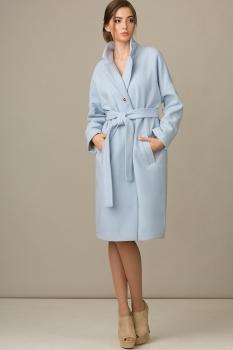 Пальто Rosheli 340-Б голубой