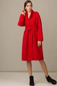 Пальто Rosheli 341-Б красный