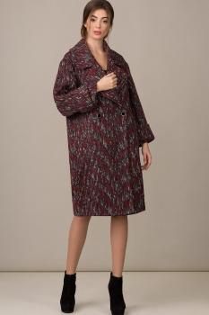 Пальто Rosheli 364-Б бордо