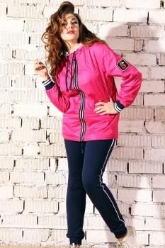 Спортивный костюм Runella 1316-1 розовый