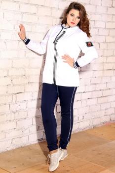 Спортивный костюм Runella 1316-2 белый