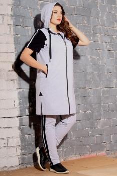 Спортивный костюм Runella 1334-1 серый