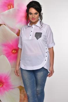 Блузка Solomea Lux 427а белый