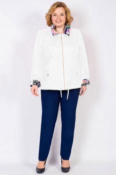 Куртка Tricotex Style 1547 белые тона