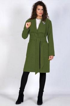 Пальто Tricotex Style 9417 хаки