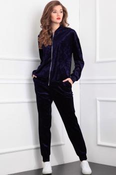 Спортивный костюм Tvin 5223-1 оттенки синего