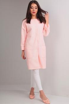 Пальто Tvin 5266 светло розовый