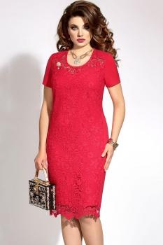 Платье Vittoria Queen 3413/5 красно-розовый