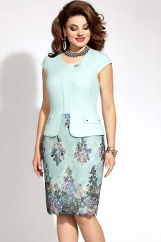 Платье Vittoria Queen 5933 мята