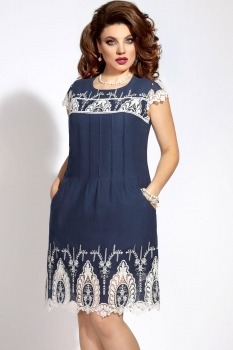 Платье Vittoria Queen 6203 синий