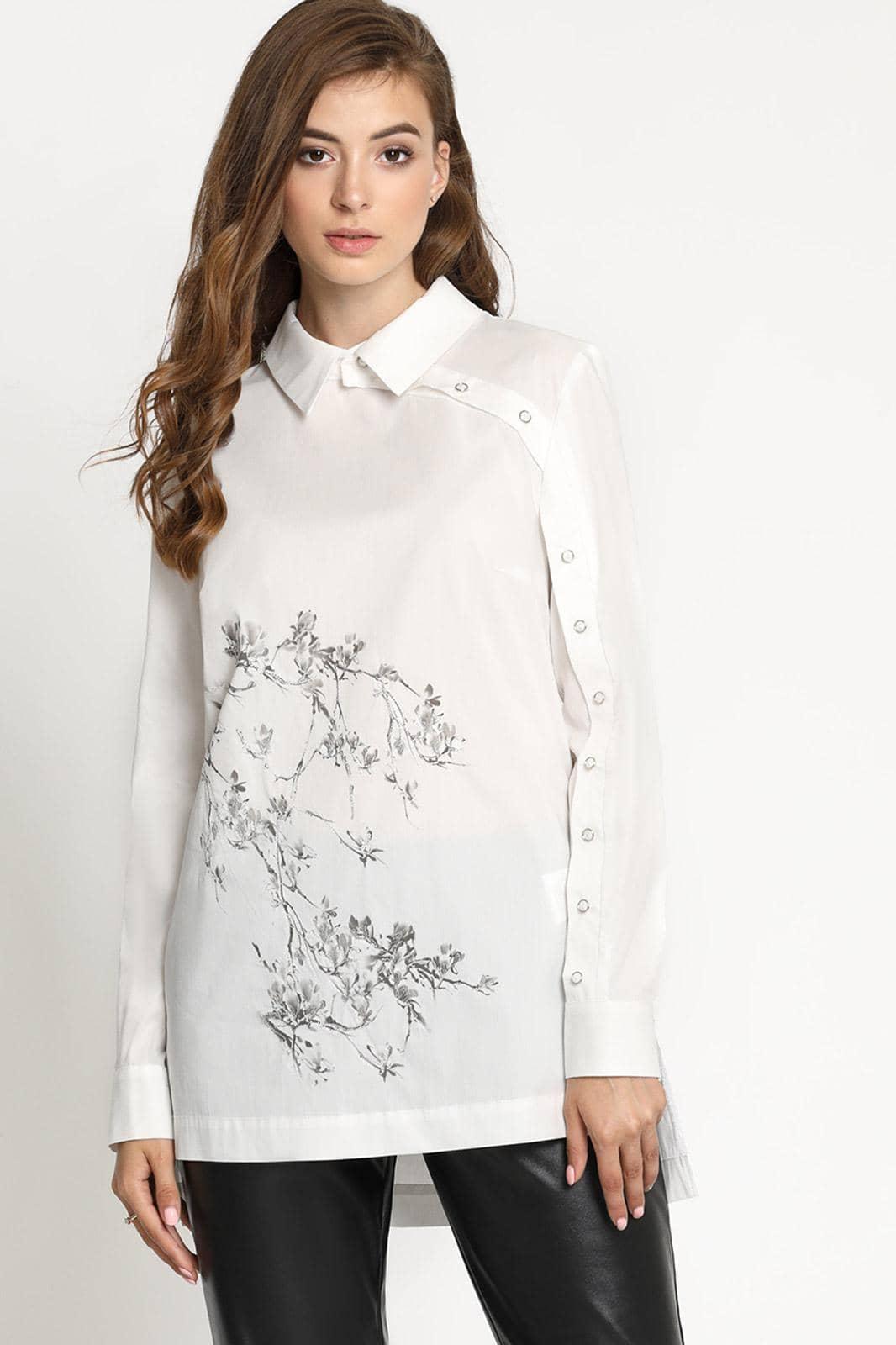 Купить недорогие белые блузки