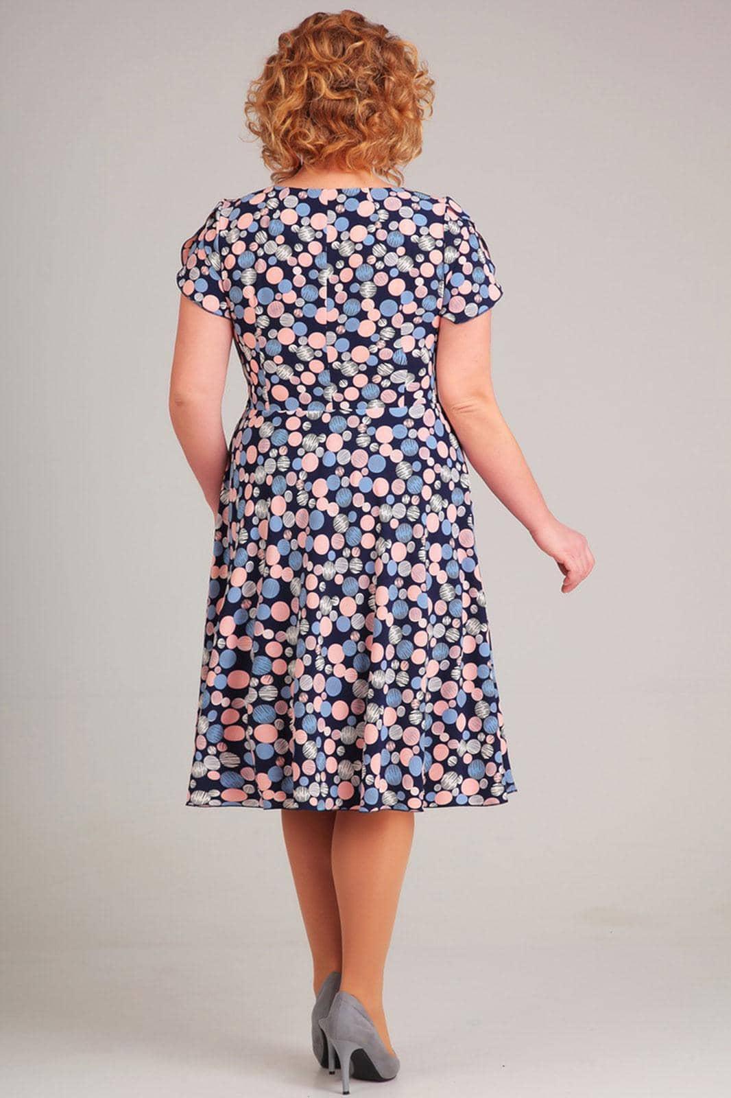 Платье Асолия 2363 круги - фото 2