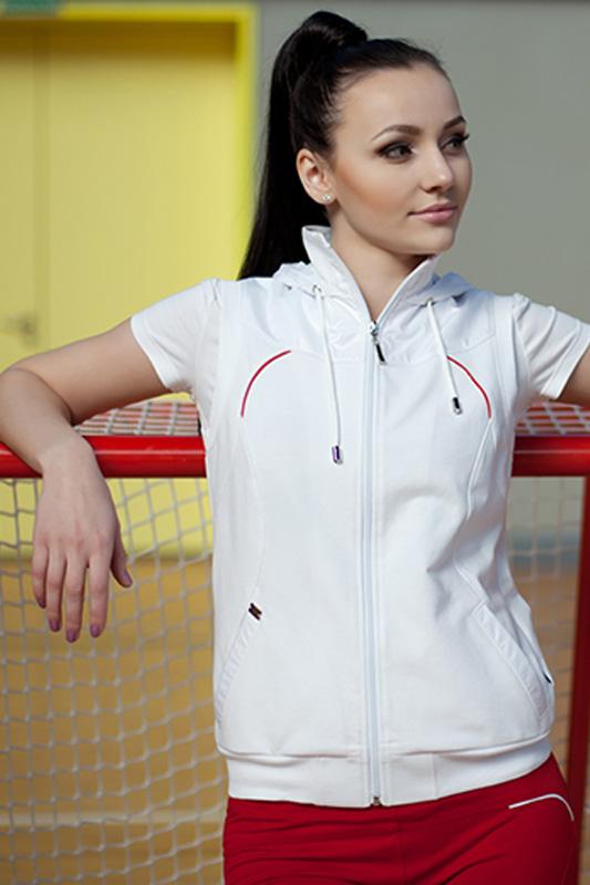 Спортивный костюм For Rest 5351 белый/малина - фото 2